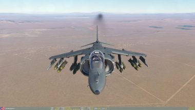 DCS World : (MAJ) Harrier AV-8B teaser