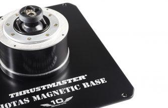 Thrustmaster : Base Warthog disponible en stand alone