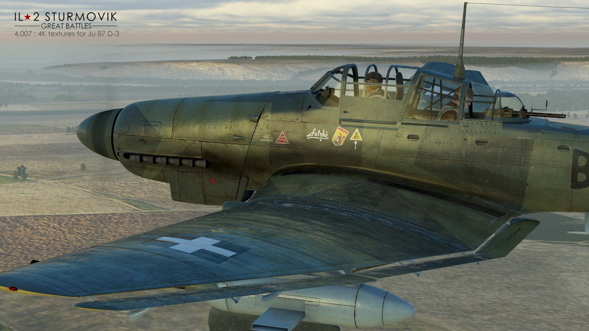 Il-2 Great Battles: Patch 4.007