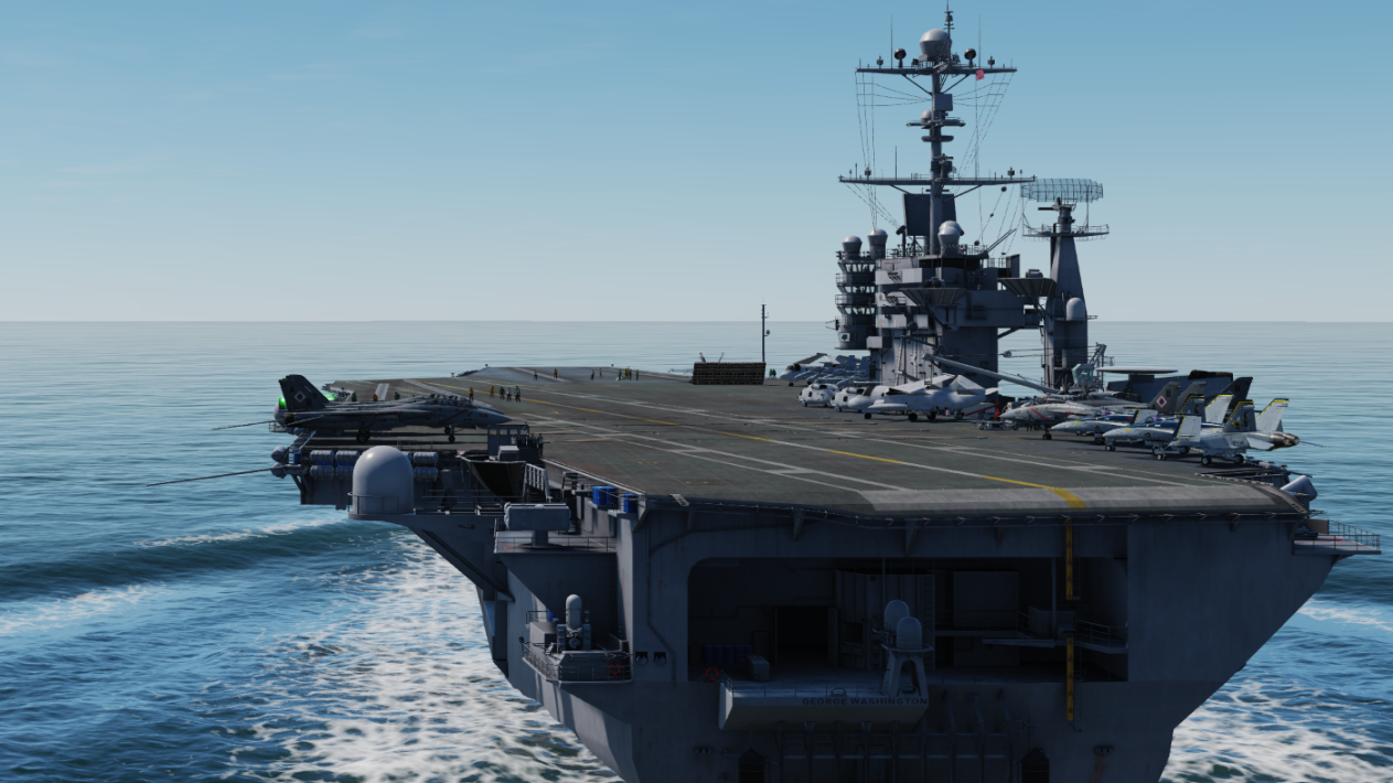 DCS :  Préview  Supercarrier