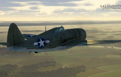 """IL-2 JDD N°252. P-47D-22 """"Razorback"""" pour juillet !"""