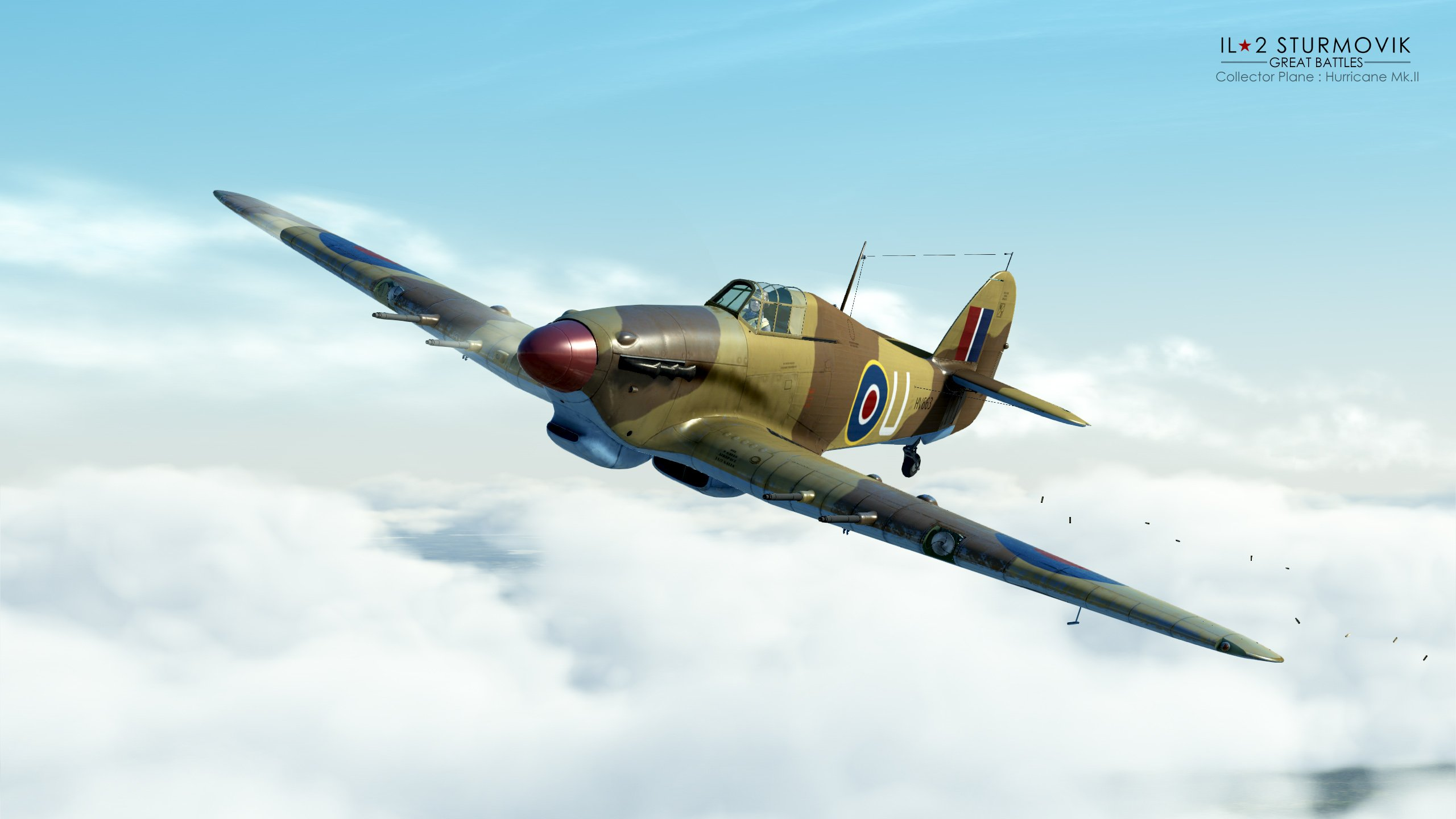 Il-2 Great Battles: JDD N°261 Avec du Hurricaine Mk II