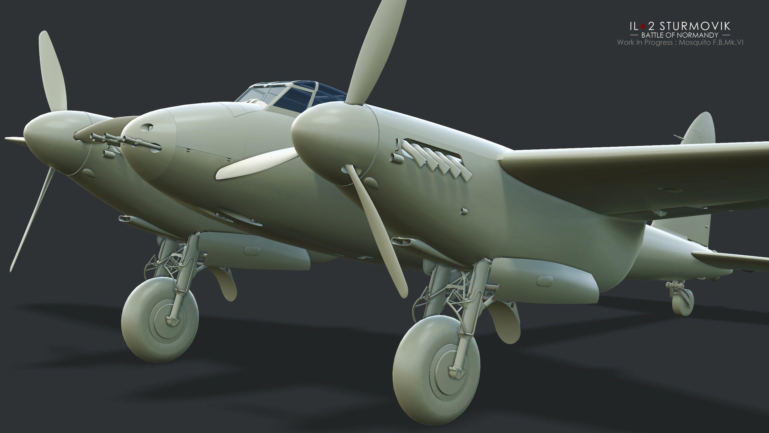 IL-2 Great Battles: JDD N°262 Avec non pas une hirondelle mais un moustique dedans...