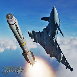 DCS : Module EF-2000 Interview de Gero et TOM de True Grit (VF)